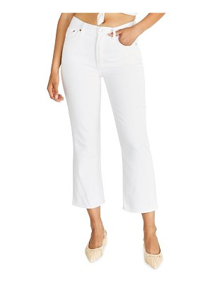 ETICA Josie Cropped Flared Jeans