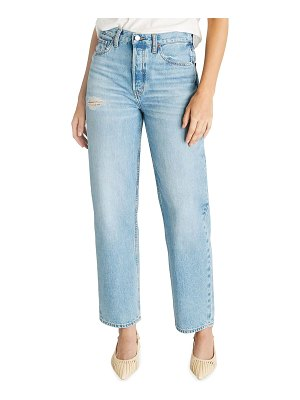 ETICA Tyler Vintage Straight-Leg Cropped Jeans