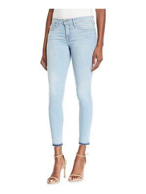 Etienne Marcel Skinny Two Tone Jeans With Double Zip Detail