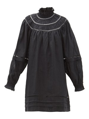 Etoile Isabel Marant adenia ladder-lace linen dress
