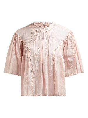 Etoile Isabel Marant algar embroidered cotton top