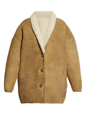 Etoile Isabel Marant carman reversible shearling coat