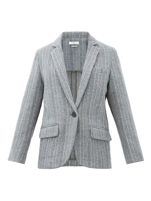 Etoile Isabel Marant charly single-breasted wool jacket