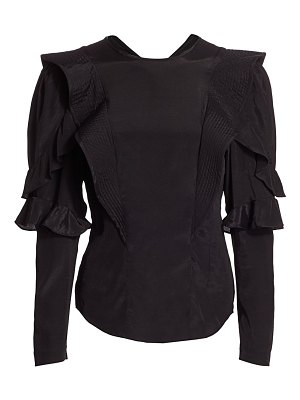 Etoile Isabel Marant constance ruffle top