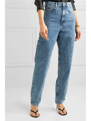 Etoile Isabel Marant corsyj high-rise tapered jeans
