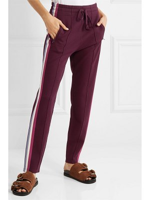 Etoile Isabel Marant darion striped knitted track pants
