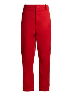 Etoile Isabel Marant dysart high rise chino trousers