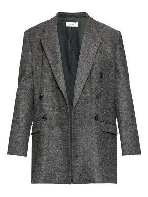 Etoile Isabel Marant eagen checked double-breasted blazer