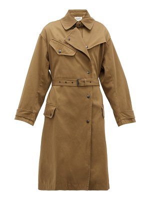 Etoile Isabel Marant gabao belted cotton trench coat