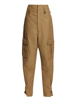 Etoile Isabel Marant geena patch pocket high rise trousers