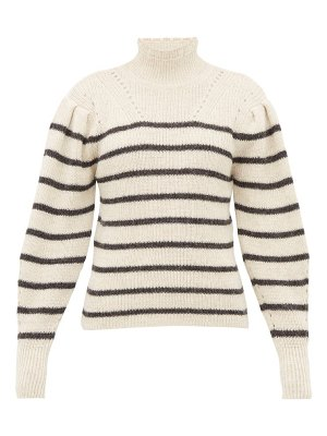 Etoile Isabel Marant georgia striped alpaca blend sweater