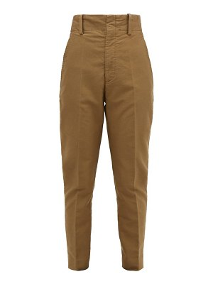 Etoile Isabel Marant goah tapered cotton trousers