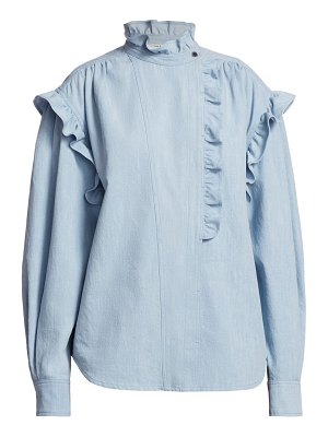 Etoile Isabel Marant gossia high-neck denim shirt