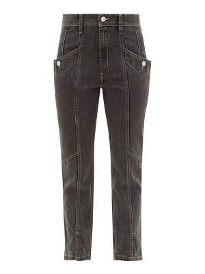 Etoile Isabel Marant hotta cropped cotton jeans