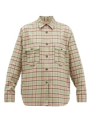 Etoile Isabel Marant idaho checked cotton shirt