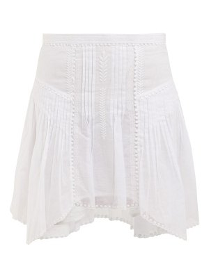 Etoile Isabel Marant akala lace-trimmed cotton mini skirt