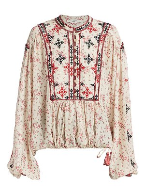 Etoile Isabel Marant ivayo embroidered blouse