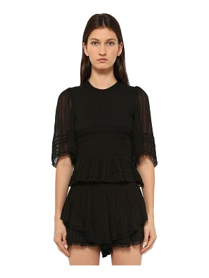 Etoile Isabel Marant Janette smock point viscose top