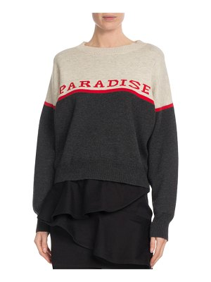 Etoile Isabel Marant Kepson Colorblock Graphic Sweater