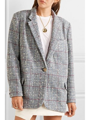 Etoile Isabel Marant kice checked wool-blend bouclé blazer