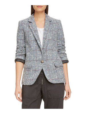 Etoile Isabel Marant kice glen plaid wool blend blazer