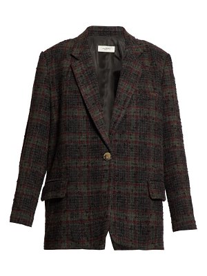 Etoile Isabel Marant korix single breasted checked blazer