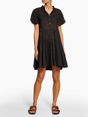 Etoile Isabel Marant lanikaye tiered cotton voile mini dress