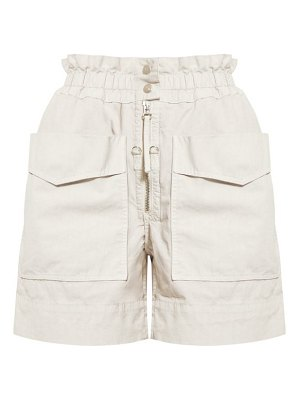 Etoile Isabel Marant lizy high rise cotton shorts