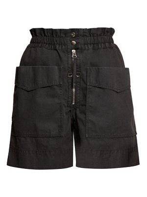 Etoile Isabel Marant lizy straight leg cotton shorts