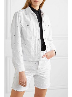 Etoile Isabel Marant lofty distressed denim jacket