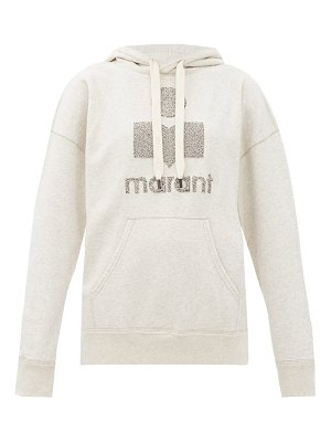 Etoile Isabel Marant mansel terry-logo cotton-blend sweatshirt