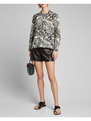 Etoile Isabel Marant Maria Printed Button-Down Shirt