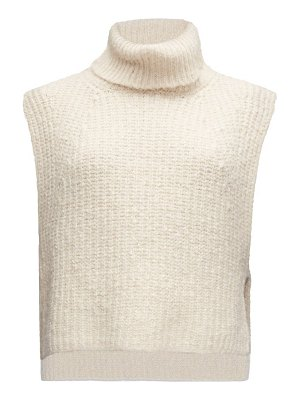 Etoile Isabel Marant megan roll-neck sleeveless knitted sweater