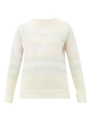 Etoile Isabel Marant milly tie-dye print cotton-blend sweatshirt