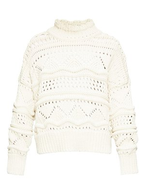 Etoile Isabel Marant naka high-neck cable-knit sweater