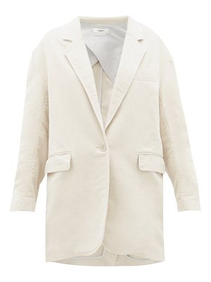 Etoile Isabel Marant natty brushed cotton twill sports jacket