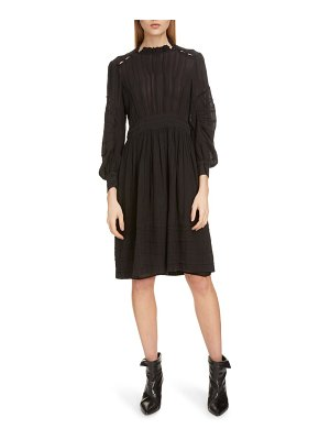 Etoile Isabel Marant odea pintuck dress