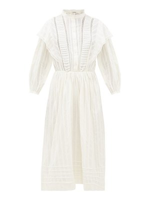 Etoile Isabel Marant paolina striped cotton midi dress