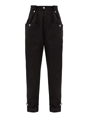 Etoile Isabel Marant pulcie tapered cotton trousers