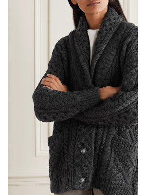 Etoile Isabel Marant regan cable-knit wool cardigan