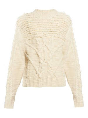 Etoile Isabel Marant ryder wool cable knit sweater