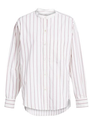 Etoile Isabel Marant satchell stripe button-down shirt