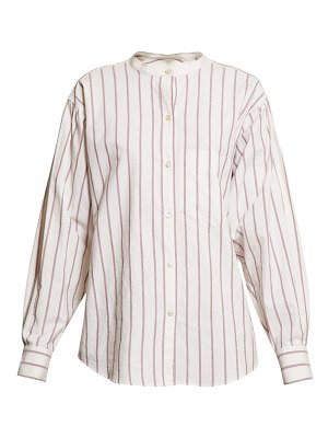 Etoile Isabel Marant satchell striped cotton shirt