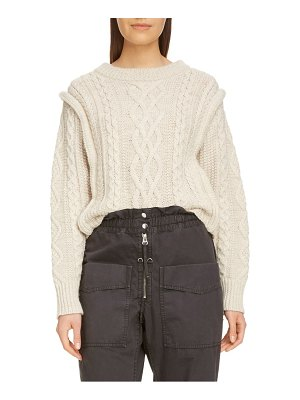 Etoile Isabel Marant tayle cable knit sweater