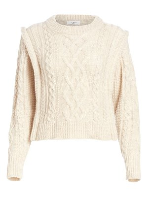 Etoile Isabel Marant tayle cableknit wool sweater
