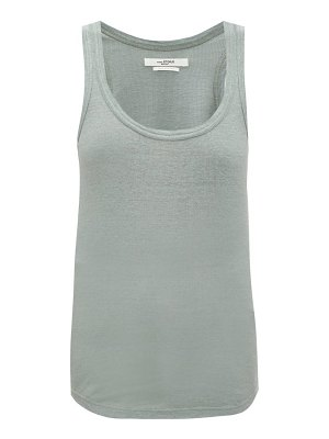 Etoile Isabel Marant vickyo ribbed linen tank top