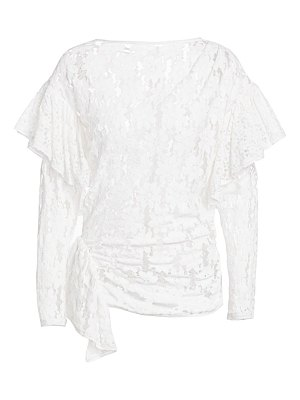 Etoile Isabel Marant vinny sheer lace top