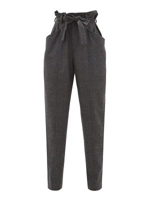 Etoile Isabel Marant vittoria checked trousers