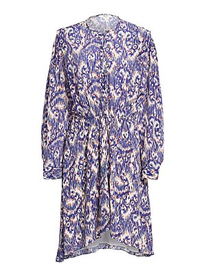 Etoile Isabel Marant yandra ikat printed silk shift dress