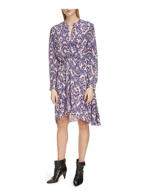 Etoile Isabel Marant yandra long sleeve silk dress